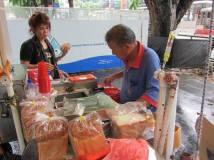 Vendita gelati a Singapore