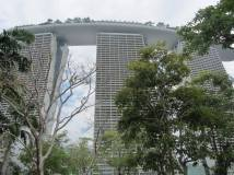 Marina Bay Hotel in SIngapore